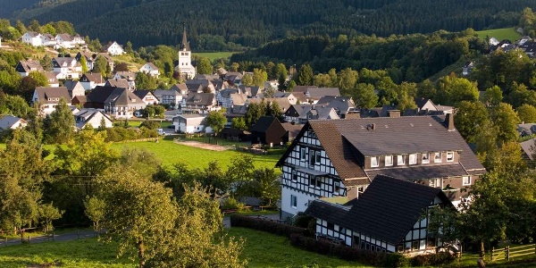 Blick auf Fleckenberg