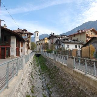 Il torrente Assat a Bezzecca