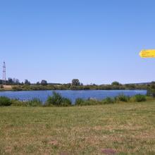 Weg an den Sauldorfer Seen