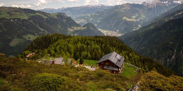 Unterhalb der Gamshütte liegt das Naturwaldreservat Ebenschlag