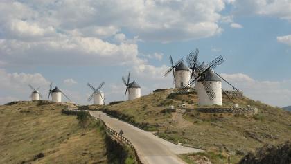Die Windmühlen von Consuegra