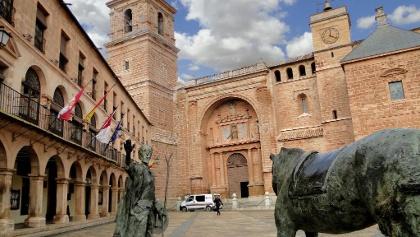 Quijote-Denkmal in Villanueva de los Infantes