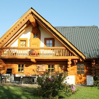 Ferienblockhaus auf Hof Kolb