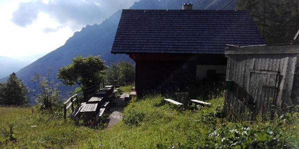 Rastplatz Forlhütte