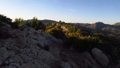 """Blick zum Puig de Pic, dem ersten """"Gipfel"""" am GR221"""