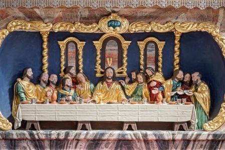 Reckingen, Pfarrkirche: Abendmahl