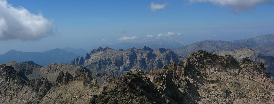 Blick vom Monte Rotondo