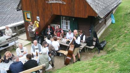 Schalleralm Hütte