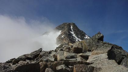 Schlusshang zum Gipfel