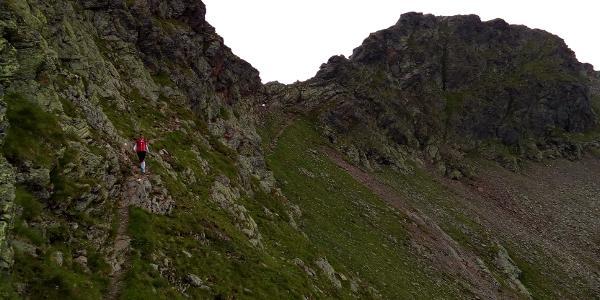 Höhenweg Hochkreuz - Kreuzlscharte