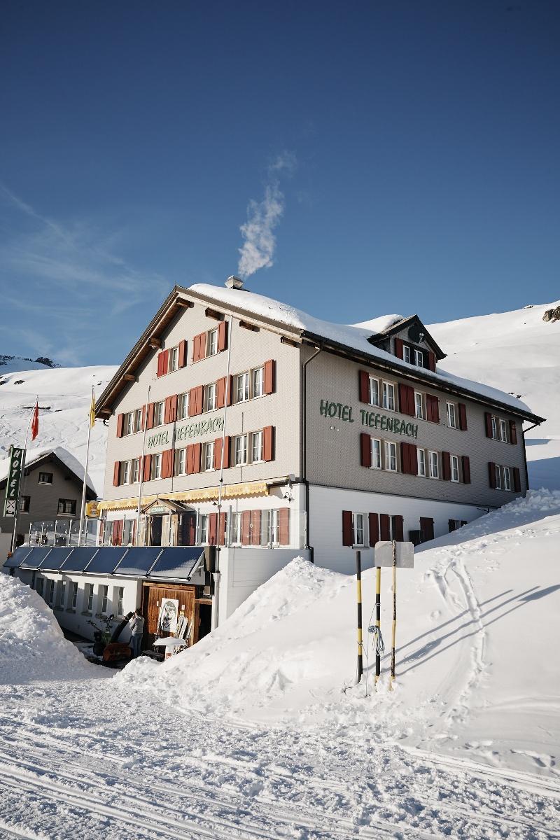 Hotel Tiefenbach im Winter