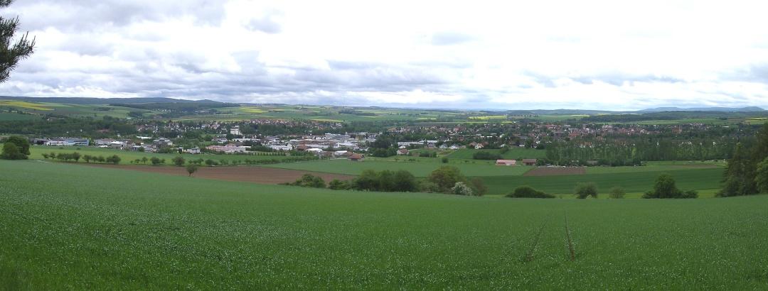 Panoramabild von Hofgeismar