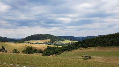 Blick auf die Burg Dotzlar