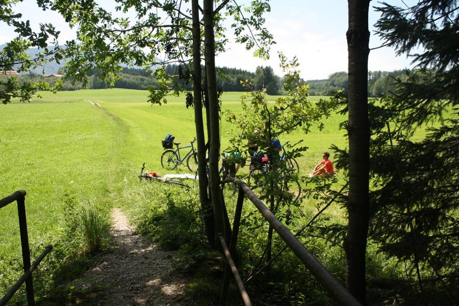 Grenzenlos Wanderweg Prien–Aschau