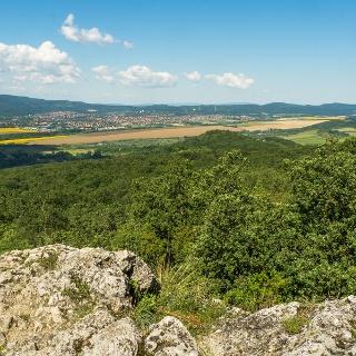 Kilátás Pilisvörösvár irányába