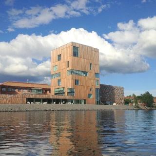 Das Bildmuseet am Fluss Umeälven
