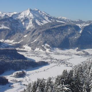 Panoramaaussicht Baumgarten