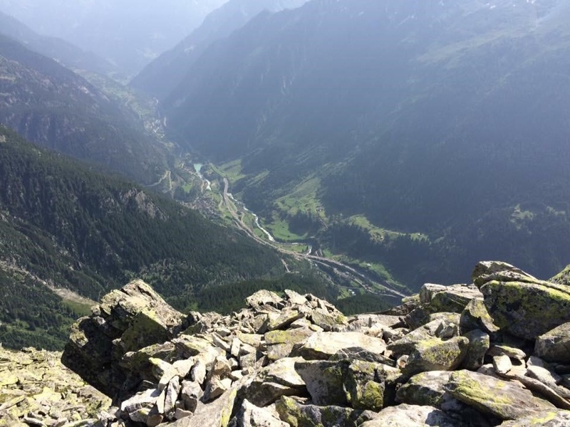 Aussicht Meiggelenstock