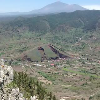 El Palmar (Teide in hintergrund)