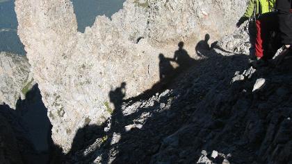Klettersteig Croda Dei Toni : Berchtesgadener hochthron klettersteig d e hm h