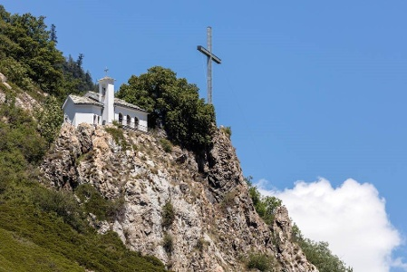 Kapelle Maria zen spitzen Steinen