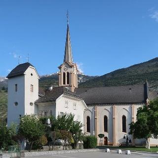Salgesch Johanniter-Hospiz und Johannes-Kriche
