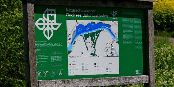Der Flachsee ist Naturschutzzone.