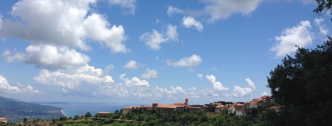 Blick in die Bucht von Velia