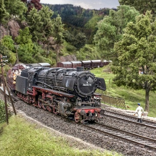 Modellbundesbahn Dampflokomotive Baureihe 44