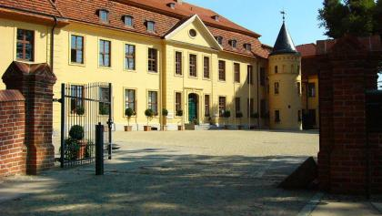 Innenhof des Schlosses Stavenhagen