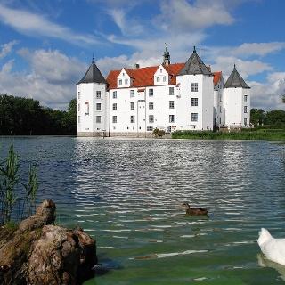 Das Wasserschloss in Glücksburg
