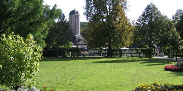 Parkanlage in Bad Salzhausen