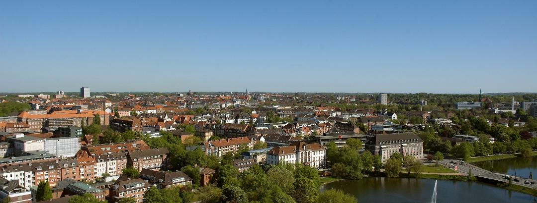 Blick über Kiel