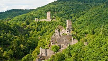 Ober- und Niederburg Manderscheid_Vulkaneifel-Pfade: Manderscheider Burgenstieg
