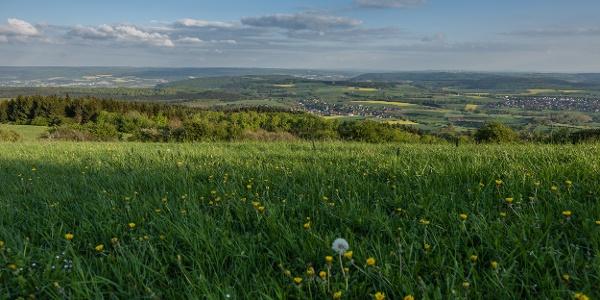 Ausblick vom Köterberg ins Wesertal
