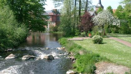 Osterau-Solgleite im Stadtzentrum von Bad Bramstedt