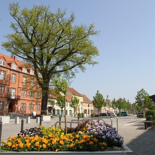Marktplatz in Zossen