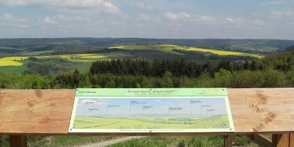 Vulkaneifel-Pfad: Schneifel-Pfad_Eifelblick Katzenkopf