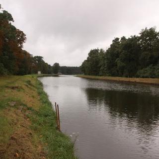 Schnurgerade: der Oder-Spree-Kanal