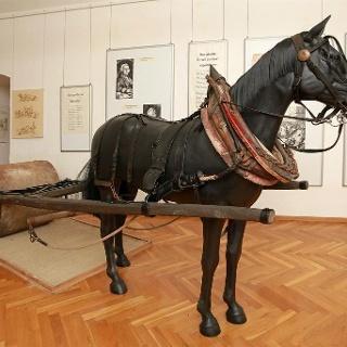 Pferde als Helfer beim Straßenbau