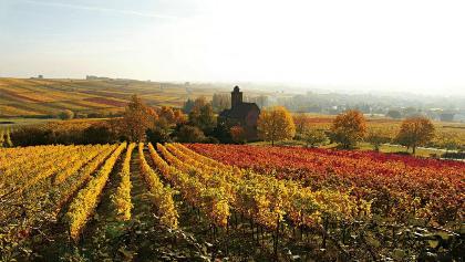 Herbstliche Nikolauskapelle