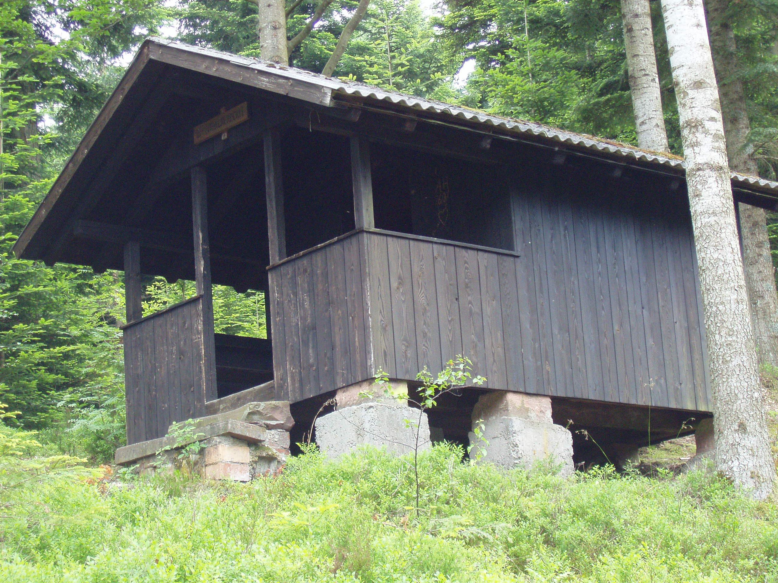 Schutzhütte am Offenbacher Eckle