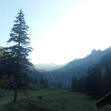 Start von der Zandlacher Hütte