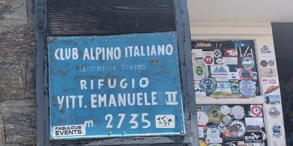 Rifugio Vittorio Emanuele II (2.734 m)