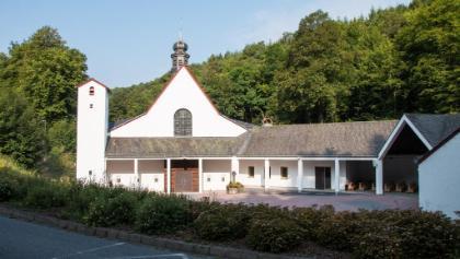 Start an der Klosterkirche Maria Martental