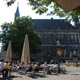 Historisches Rathaus Aachen am Markt