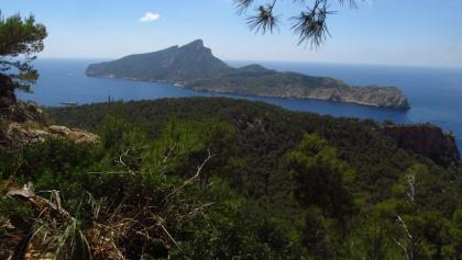 Blick zur Dracheninsel