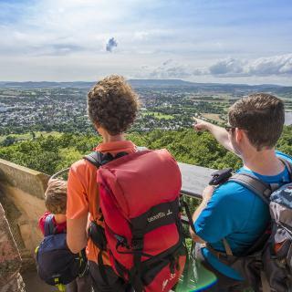 Ausblick vom Bismarckturm