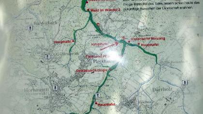Übersichtstafel Grenzbachtal