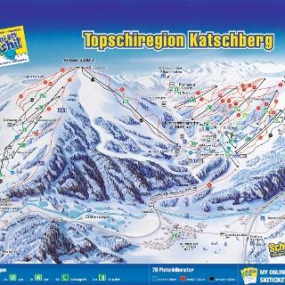 Panoramakarte von Katschberg